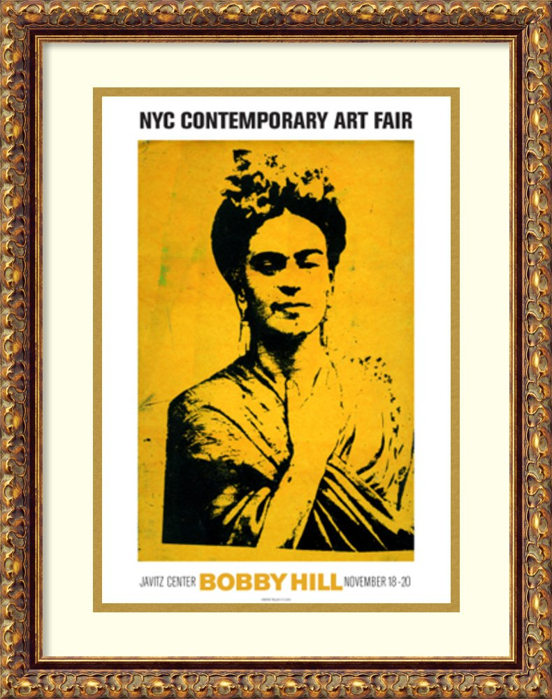 Amazon.com: Framed Art Print \'Kahlo\' by Bobby Hill: Posters & Prints