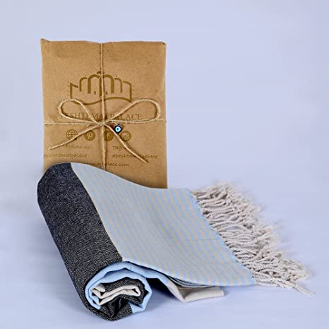 100% algodón Benetton Peshtemal (toallas turcas); playa, hammam, baño,