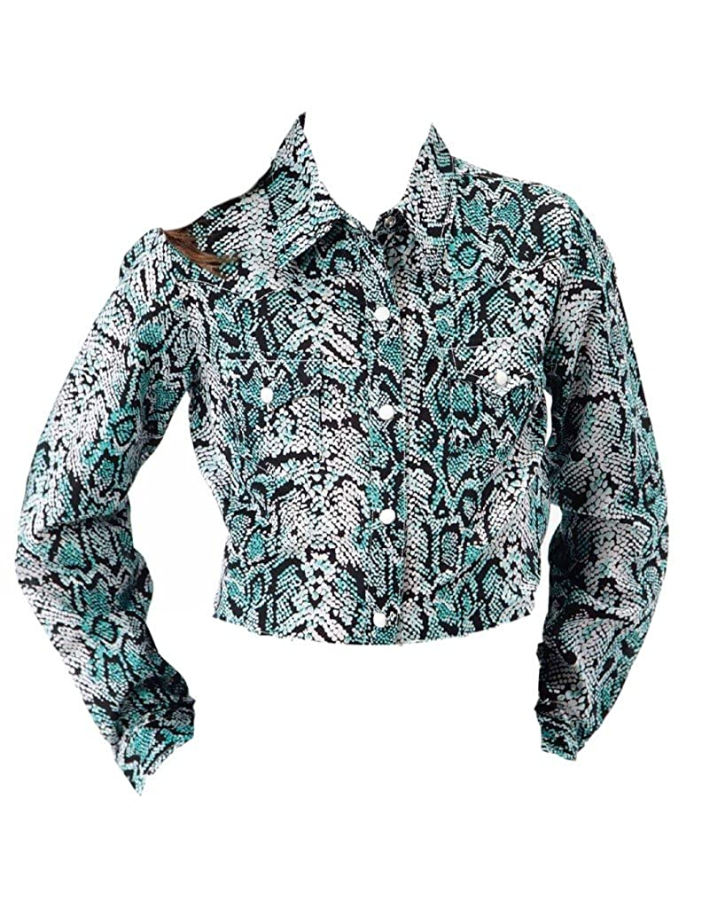 Roper Snake Print Retro Shirt Girls