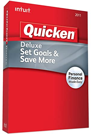 amazon com quicken deluxe 2011 old version software rh amazon com Quicken Deluxe 2011 System Requirements Quicken 2011 Upgrade