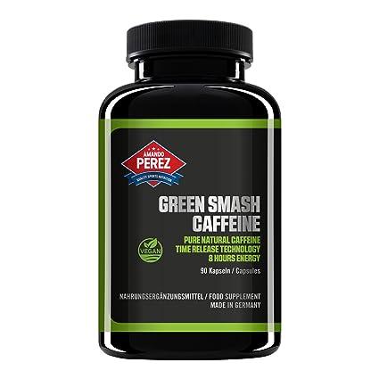 Cafeína 200 mg - Extracto de café verde - 90 Cápsulas veganas