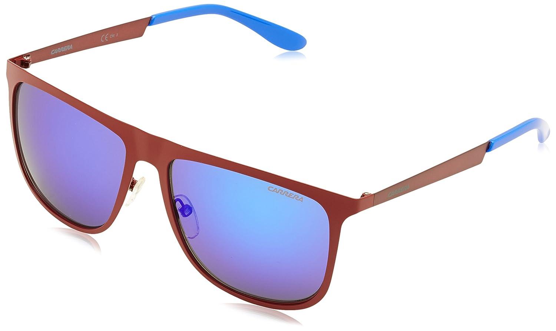 Carrera 5020/S Z0 OIH Gafas de Sol, Rojo (Matte Burgundy/ML. Blue), 58 para Hombre