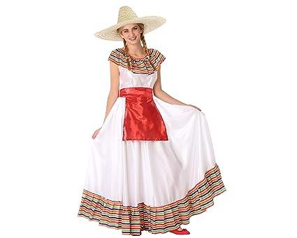 Atosa-61600 Atosa-61600-Disfraz Mejicana- ADOLESCENTE- Mujer ...