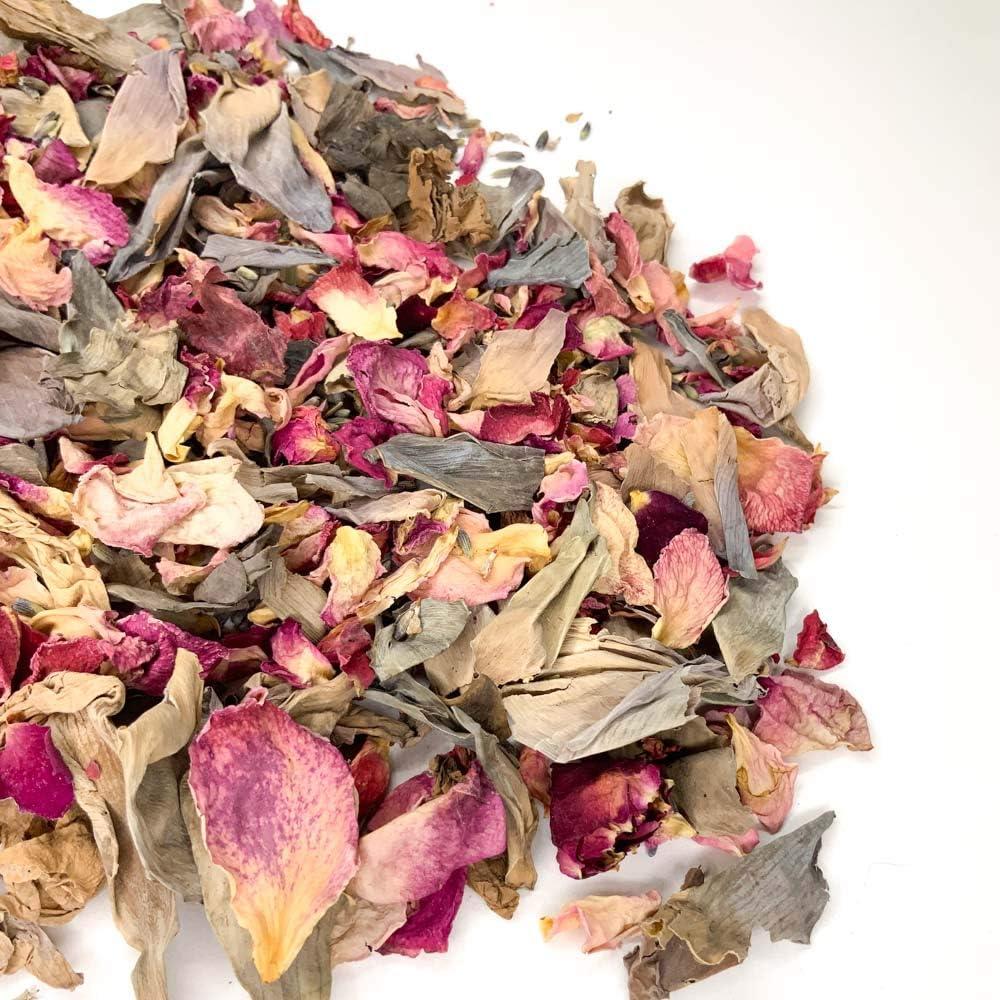 1 Liter Nat/ürliche biologisch abbaubare Bl/ütenbl/ätter Hochzeits-Konfetti Silver Berry