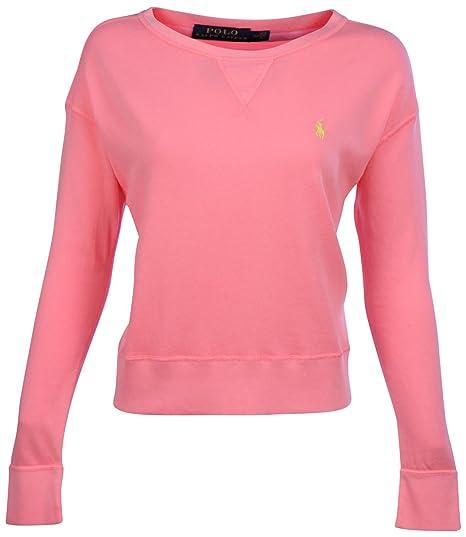 Polo Women's Ralph Crewneck Lauren Open Sweatshirt eWDIH9YEb2