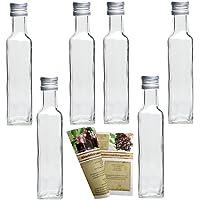 guoveo Maraska - Botellas de cristal vacías (12