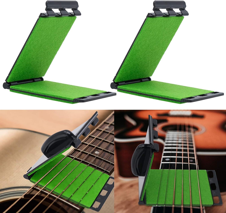 2 Piezas Limpiador de Cuerdas de Guitarra, Limpiador de Cuerdas, Proporciona Una Solución Perfecta para La Limpieza Y El Mantenimiento de Instrumentos Musicales