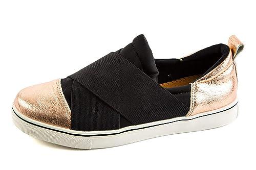BM3-046 - Mocasines de Charol para Mujer Negro Negro 37 EU, Color Negro, Talla 37 EU: Amazon.es: Zapatos y complementos