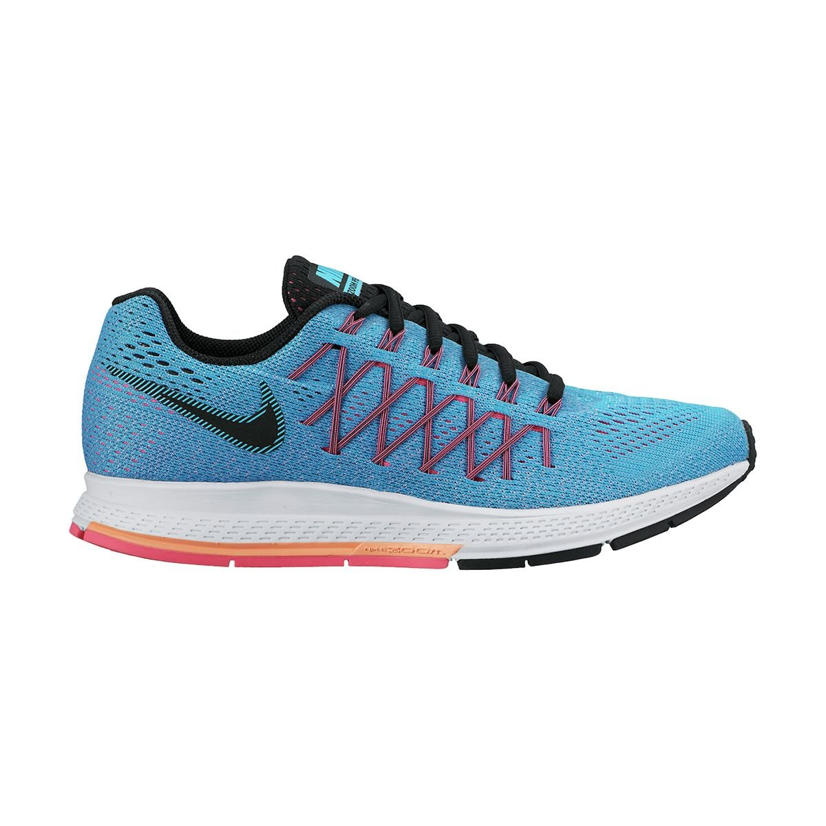 NIKE Women's Air Zoom Pegasus 32 Running Shoe B00QFP3C2M 5 B/(M) US|Bl Lagoon/Blk/Snst Glw/Pnk Pw