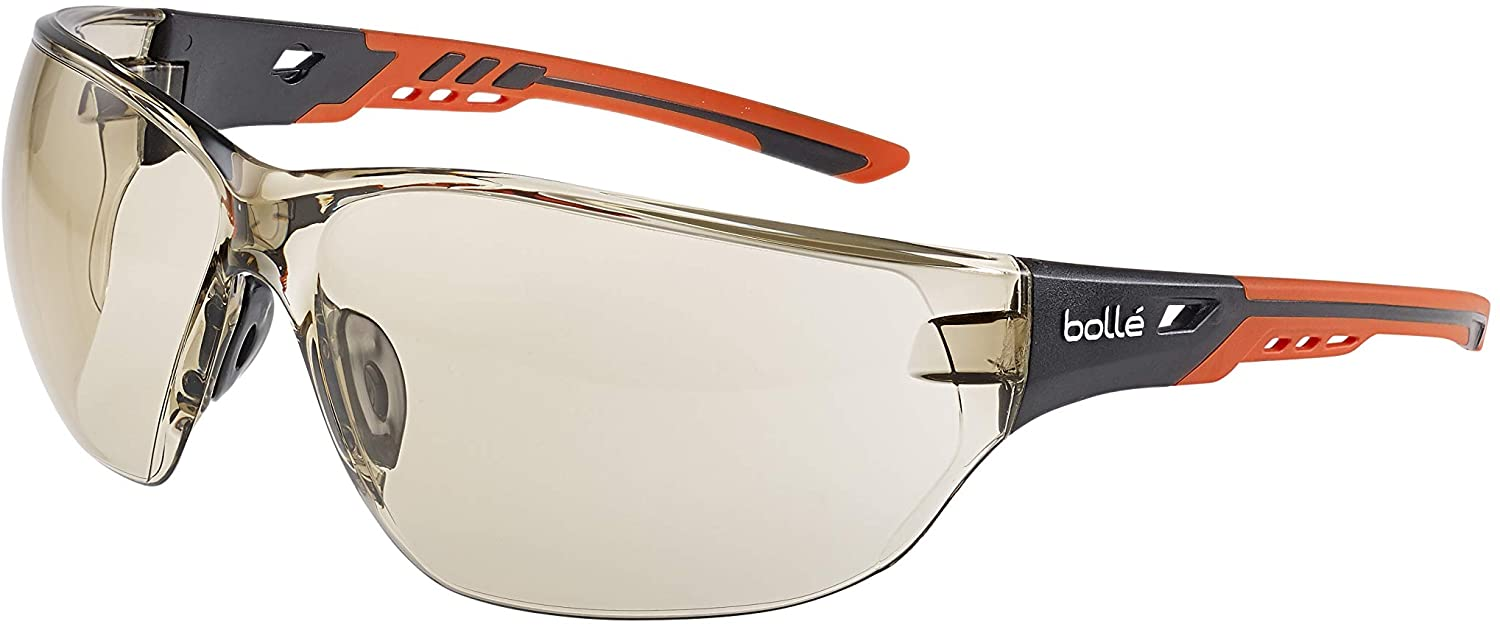 BOLLE TRYON Safety Glasses Platinum Coating Anti-scratch Anti-fog CSP Lens
