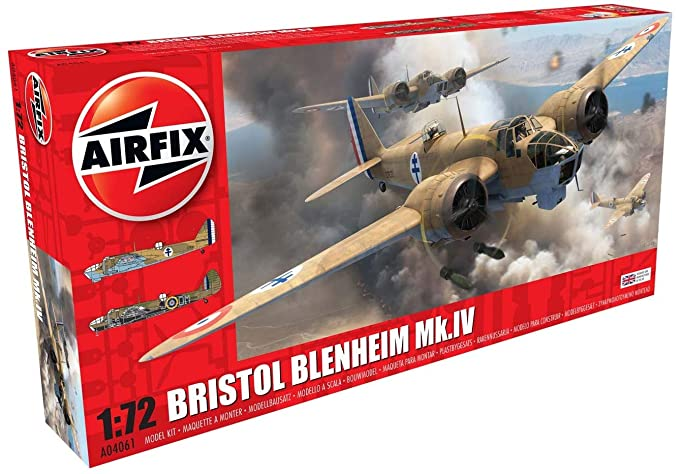 Amazon.com: Airfix Bristol Blenheim Mk.If: Toys & Games