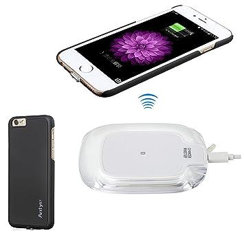Antye Kit Qi Cargador sin Hilos para iPhone 6/iPhone 6S (4.7 ...