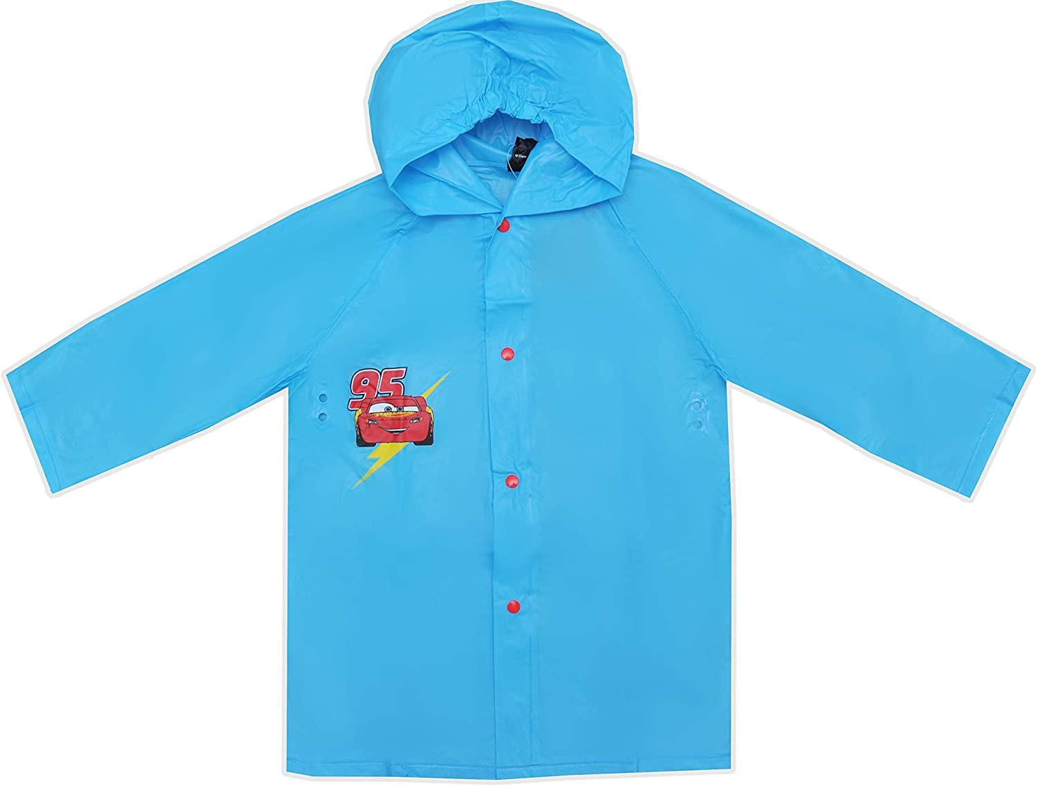 Disney Cars Lightning McQueen Kids Waterproof Raincoat