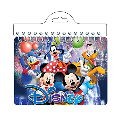 Disney Mickey & Minnie Mouse along with Pluto Goofy & Donald Duck 'Friends' Autograph Notebook: Toys & Games