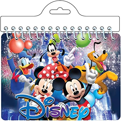 Amazon Com Disney Mickey Minnie Mouse Along With Pluto Goofy Donald Duck Friends Autograph Notebook Toys Games