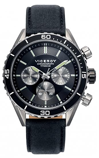Viceroy Reloj Multiesfera para Hombre de Cuarzo con Correa en Tela 471041-57