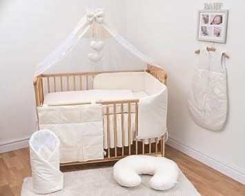 10 Teiliges Baby Bettwäsche Set Passend Zu 120x60cm Kinderbett