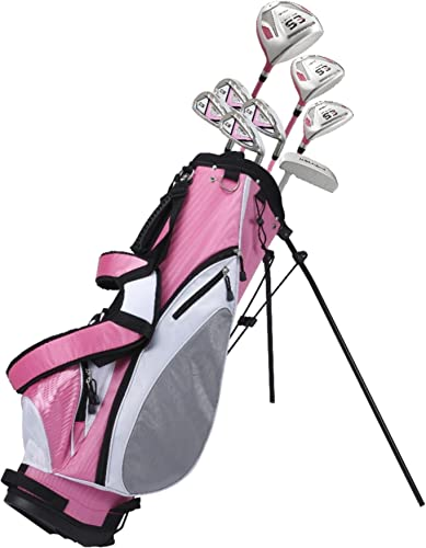 Premium Ladies Golf Club Set Pink, Right Handed, Sizes Height – Standard, Petite, Tall