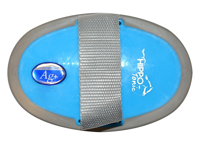 HIPPO-TONIC Unisexe antimicrobien Grande Étrille, Bleu/Gris, Dos 160x 105mm