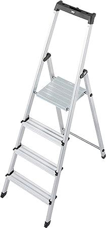 Krause – Escalera Solidy, 1 pieza, 4 niveles, 126221: Amazon.es: Bricolaje y herramientas