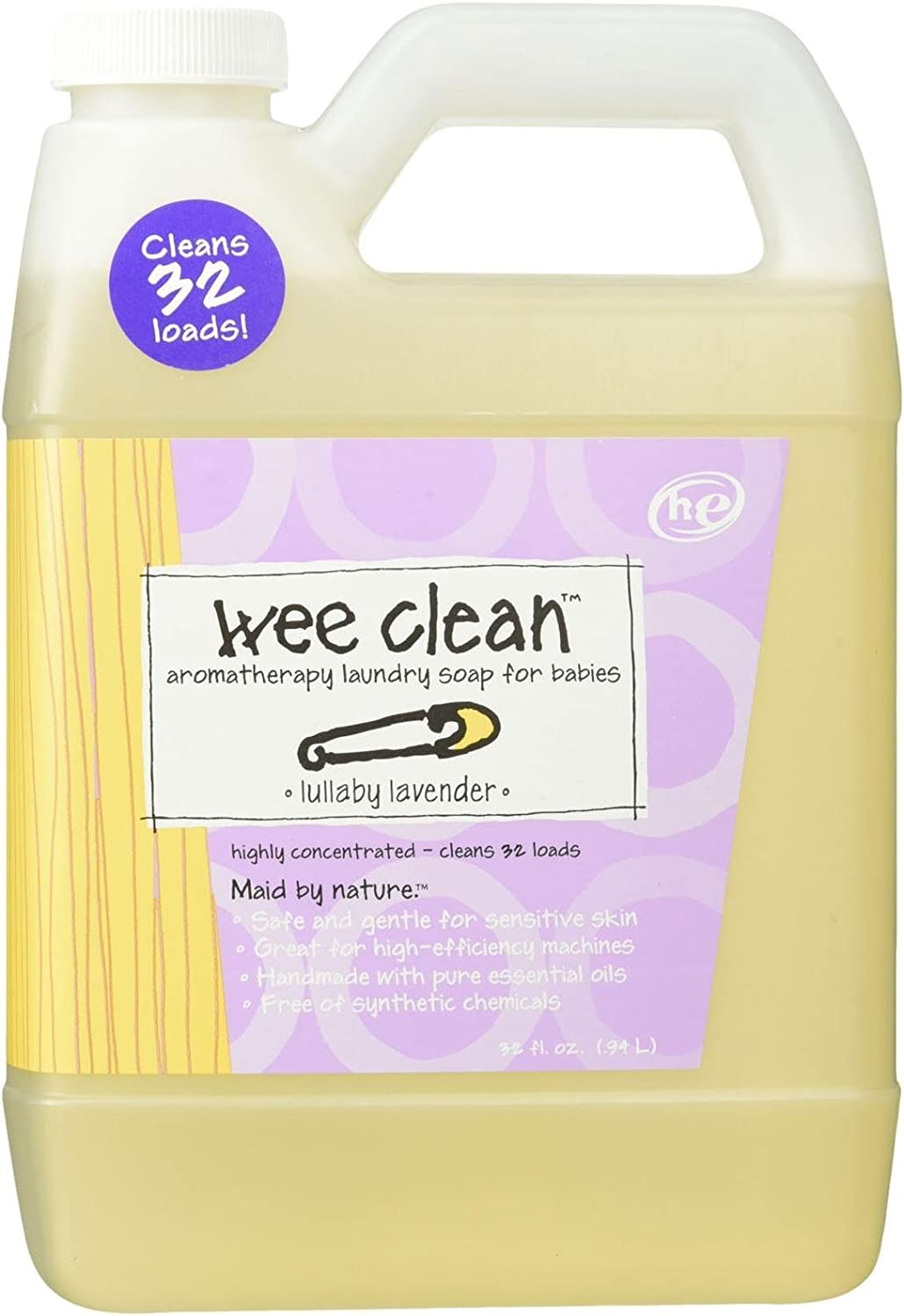 Indigo Wild Zum Clean Laundry Soap Wee, 32 Fluid Ounce
