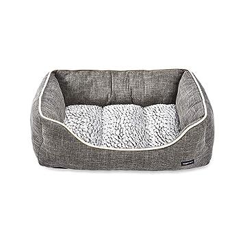 Amazon.com: AmazonBasics Cuddler Cama para mascotas, suave y ...