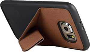 Viva Madrid Convertir Flex Samsung Galaxy S6 Stand cover - Brown