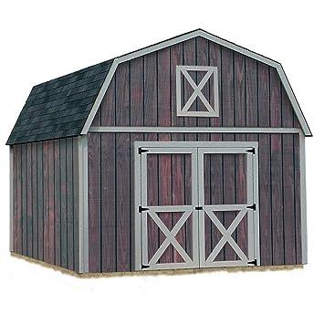 Mejor graneros Denver 12 pies x 16 pies. Kit cobertizo de madera sin suelo: Amazon.es: Electrónica