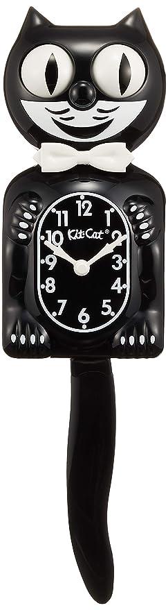 Kit-Cat - Reloj de péndulo (estilo decoración americana), diseño de gato