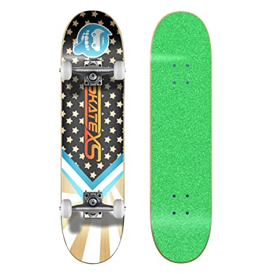 SkateXS Beginner Starboard Street Skateboard : Sports & Outdoors