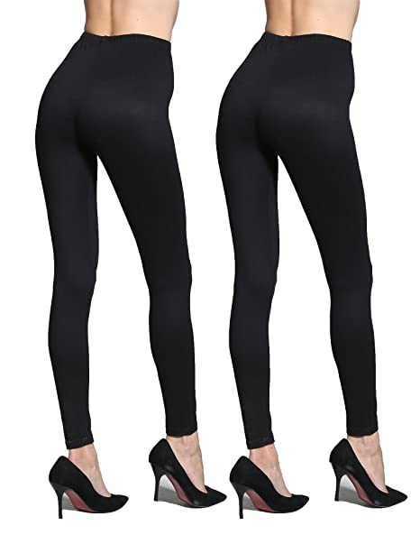 a6a35dd1844019 Sofishie Women Classic Cotton Legging 2 Pack at Amazon Women's Clothing  store: