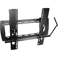 My Wall HP14-1L, 20 Jahre Garantie, Wandhalter für Flachbildschirme VESA Monitor 58 cm (23 Zoll) bis 107 cm (42 Zoll) (Belastbarkeit 20kg, Wandabstand 30mm) schwarz