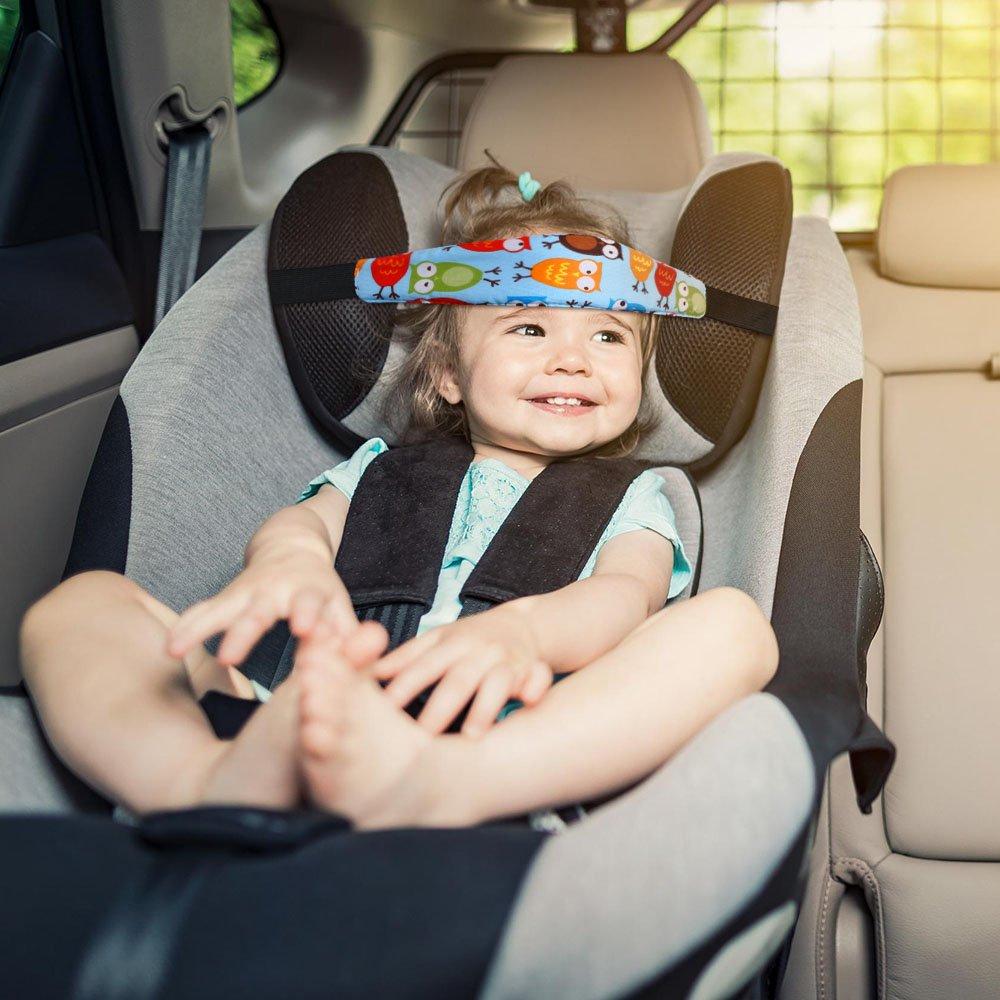 URAQT Baby Car Seat Head Support Toddler Strap Nap Aid Holder Belt
