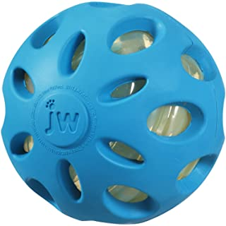 JW Pet Company Crackle Heads Crackle Ball Dog Toy, Large, (2 Pack)