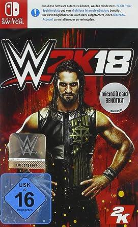 WWE 2K18 - Standard Edition - Nintendo Switch [Importación alemana]: Amazon.es: Videojuegos