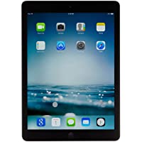 Apple iPad Air MD786LL/A (32GB, Wi-Fi, Black with Space Gray) (Renewed)