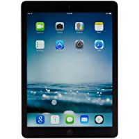 Apple iPad Air A1474 (32GB, Wi-Fi, Black with Space Gray) (Certified Refurbished)