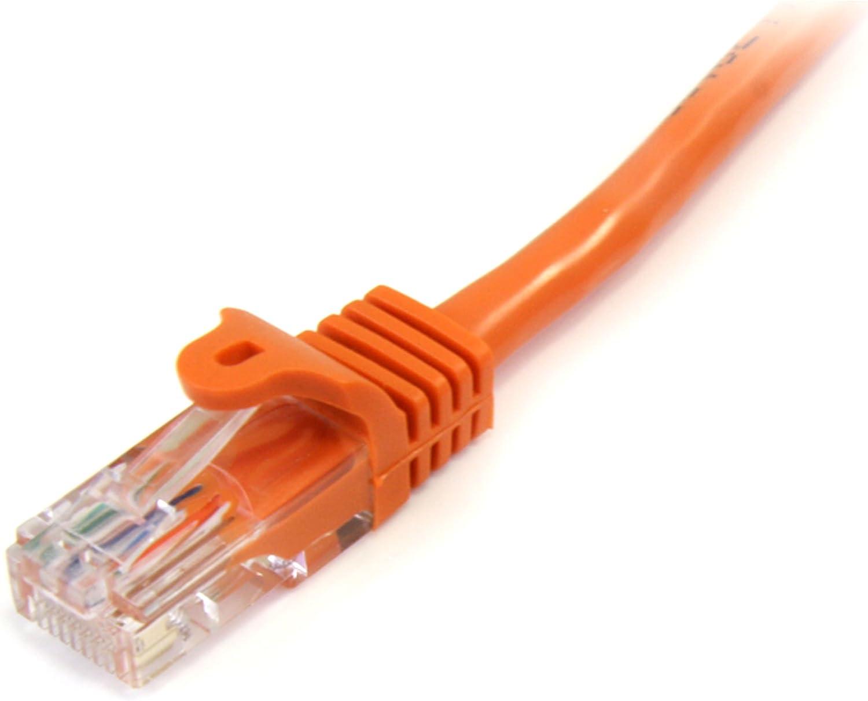 Patch Cable StarTech.com Cat5e Ethernet Cable1 ft Cat 5e Cable Snagless Cat5e Cable Ethernet Cord Short Network Cable Blue 1ft