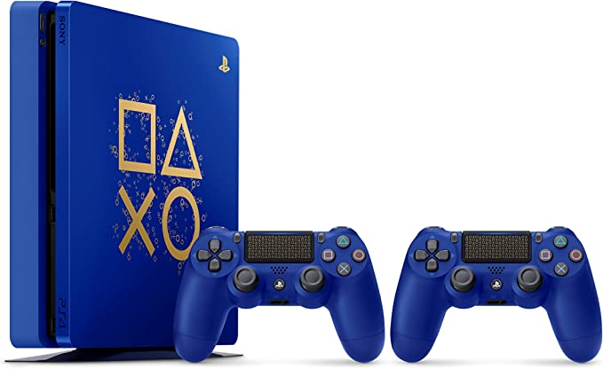 Sony PlayStation 4 500GB Console - Limited Edition Blue Days of ...