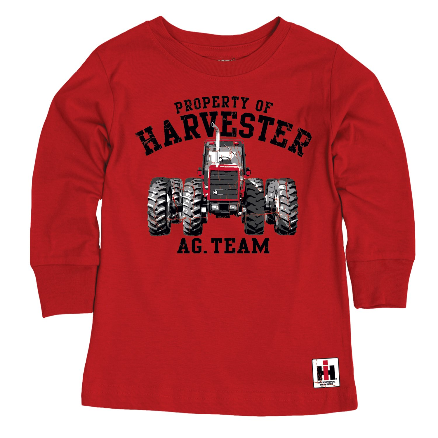 CASE IH Youth Long Sleeve Tee IH Property of Harvester