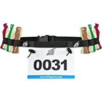 X31 Sports Triathlon Race Number Belt with 6 Gel Loops