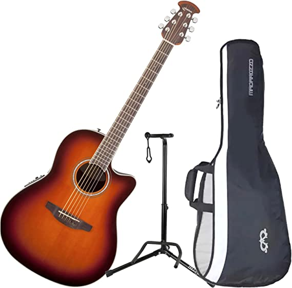 Ovation CS24 – 1 Celebrity estándar mid-depth Sunburst guitarra ...