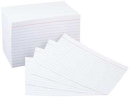 4x6 index cards