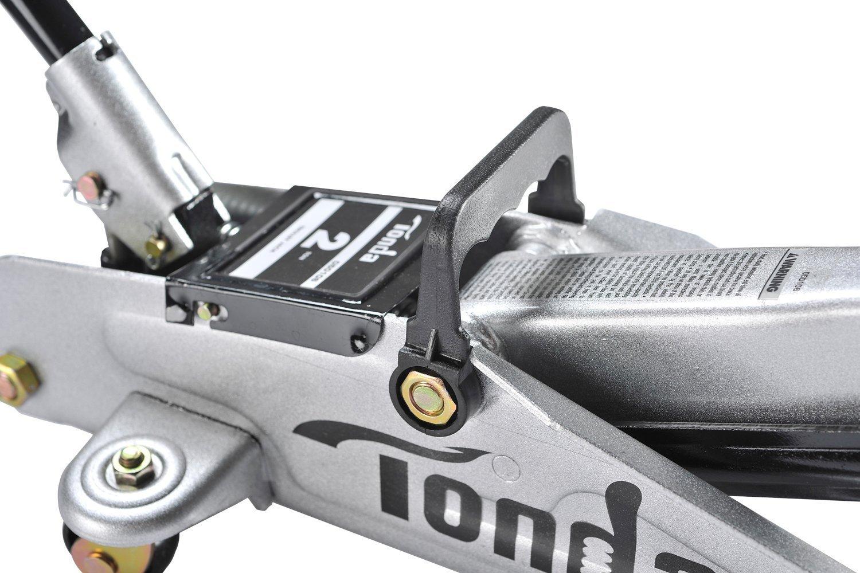 TONDA 2Ton Capacity Car Floor Jack Heavy Duty, Quick Lift(The max height 12 inches) by TONDA (Image #2)