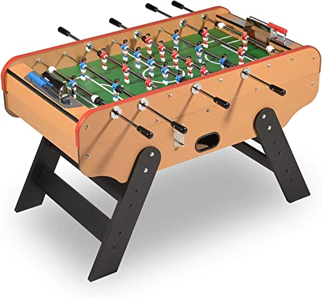 Baby foot -Futbolin madera Bar Deluxe con monedero (desactivable ...