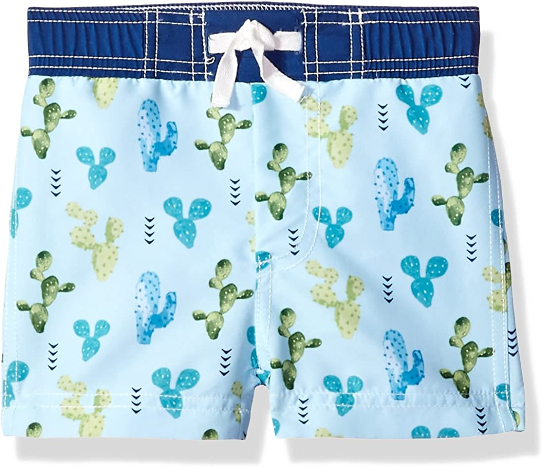 Baby Boys Swimming Trunks Cartoon Polyester Bathing Suit Children Swimwear J/&C