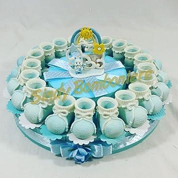 Torte Gastgeschenk Für Junge Geburt Geburtstag Taufe Mit
