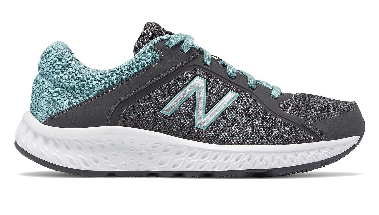 New Balance Women's 420v4 Cushioning Running Shoe B0791XYDPW 6.5 D US|Magnet/Mineral Sage/Silver Metallic