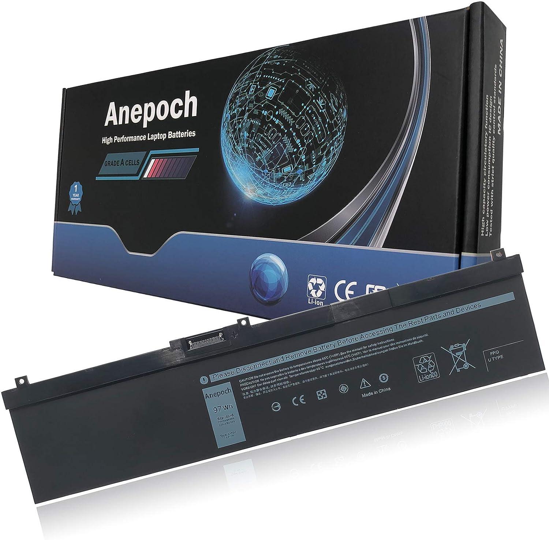 Anepoch NYFJH Laptop Battery Replacement for Dell Precision 7530 7540 7730 7740 Series NYFJH 0WNRC 00WNRC GW0K9 0GW0K9 11.4V 97Wh 8070mAh