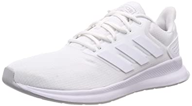 sports shoes d6e7f 73699 adidas Herren Falcon Laufschuhe Bianco FTWR WhiteGrey Two F17, 49 EU